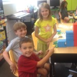 Representing larger numbers means working together.