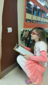 Mass & volume scoot had the students moving all around the school to test their measurement knowledge.