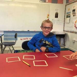 How many squares can you form with 20 sticks?