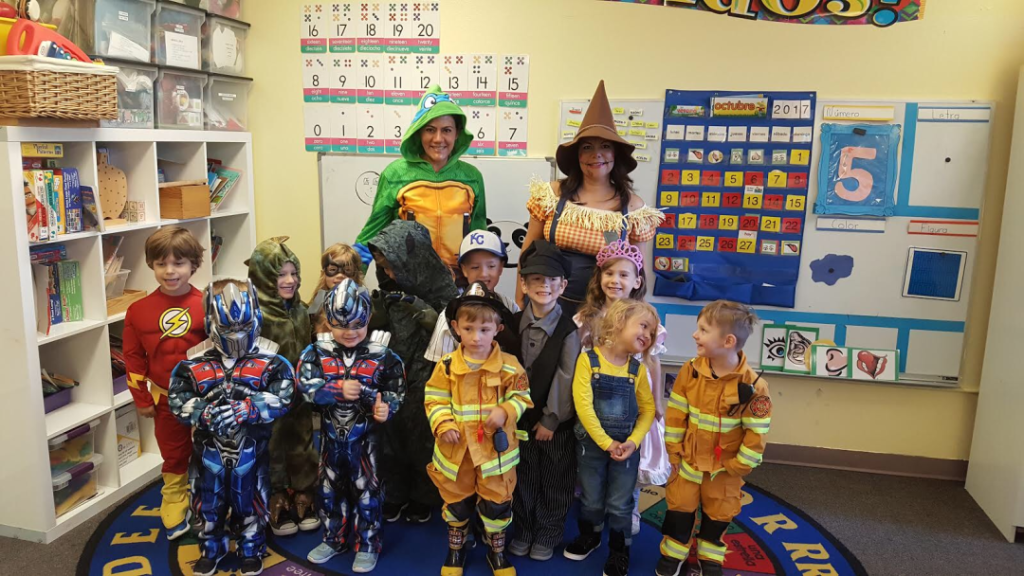 One of our three Halloween class pictures.